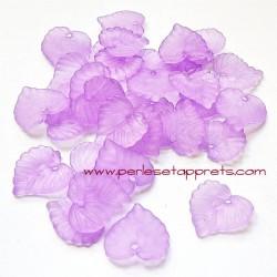 Feuille acrylique violet 14mm