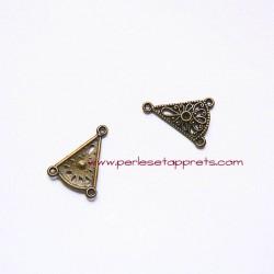 Connecteur 21mm bronze laiton pour bijoux, perles et apprêts