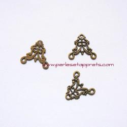 Connecteur 28mm bronze laiton pour bijoux, perles et apprêts