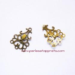 Connecteur 35mm bronze laiton pour bijoux, perles et apprêts