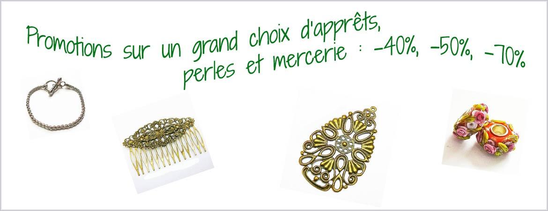 Promo apprêts bijoux